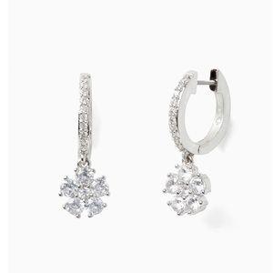 🆕Kate Spade Flower Huggie Earrings
